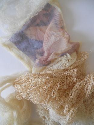Polar Bear Print on Knitting