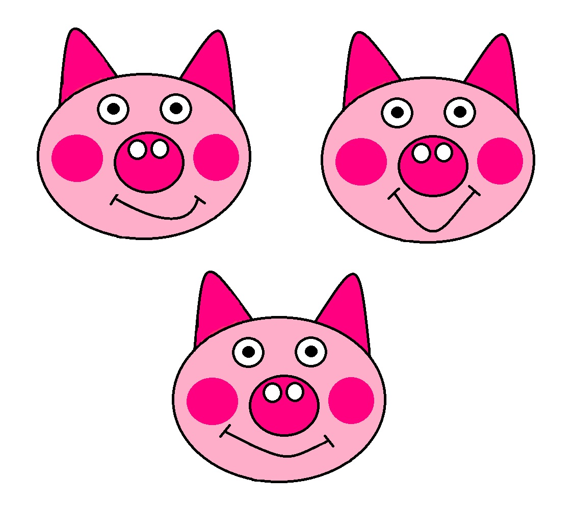 The Three Little Pigs | MollysCaptivatingCrafts